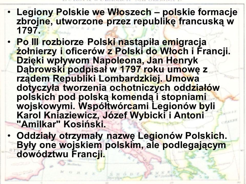 Legiony Polskie we Włoszech – polskie formacje zbrojne, utworzone przez republikę francuską w 1797.
