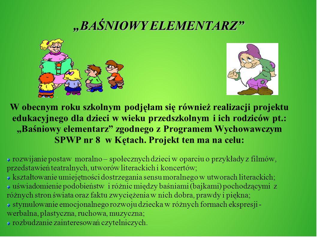"""""""BAŚNIOWY ELEMENTARZ"""