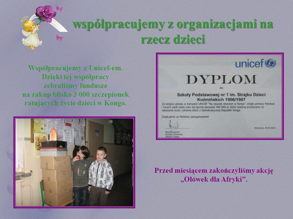 współpracujemy z organizacjami na rzecz dzieci