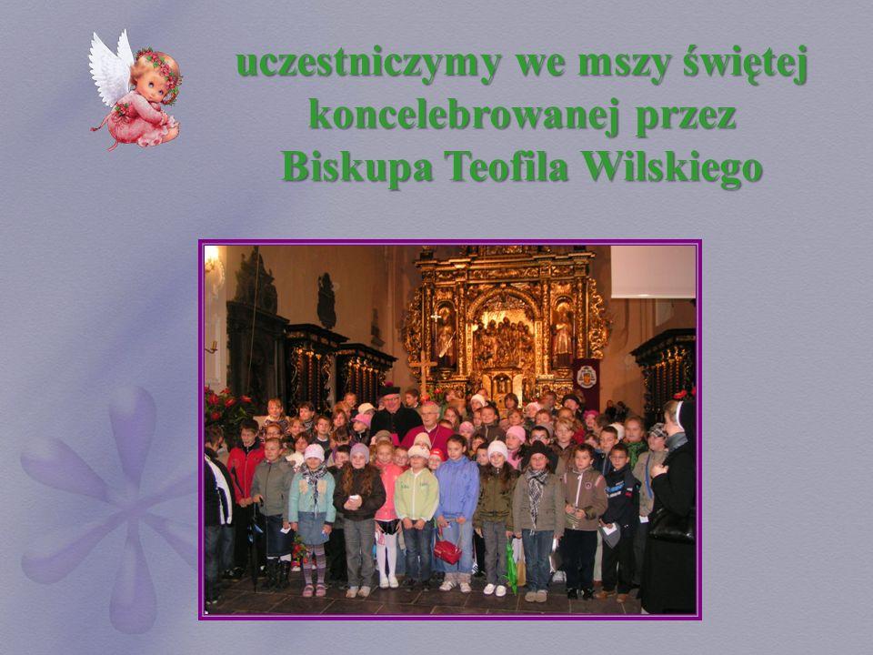 uczestniczymy we mszy świętej koncelebrowanej przez