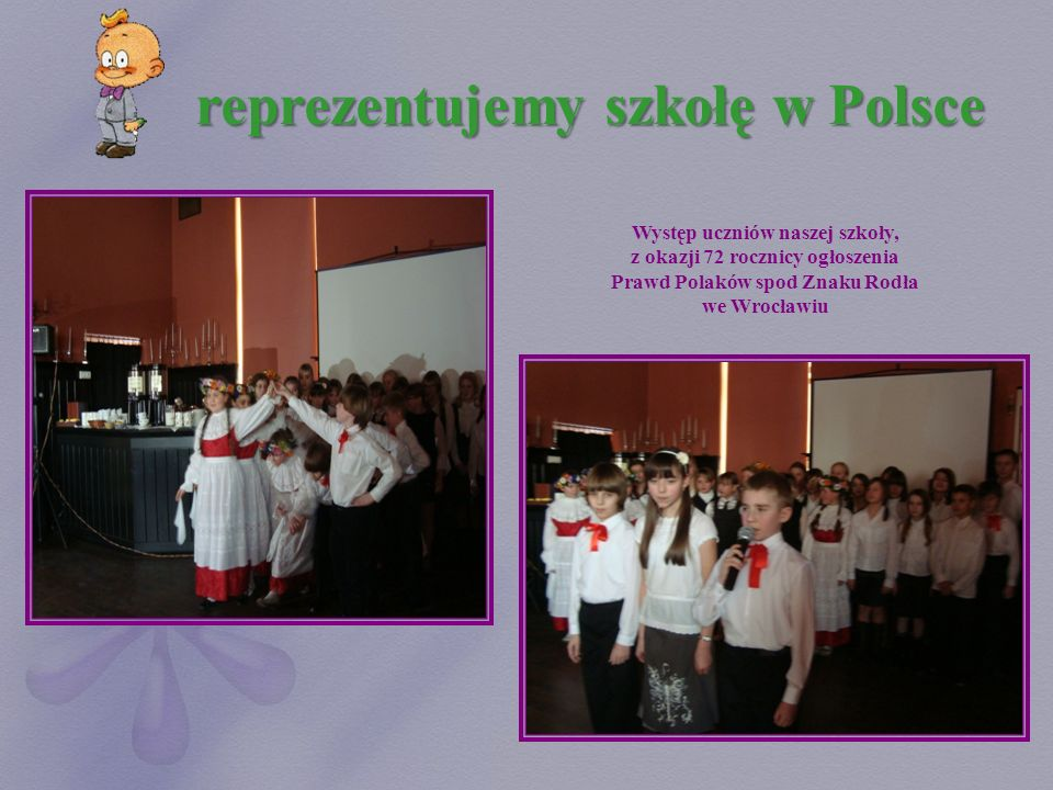 reprezentujemy szkołę w Polsce