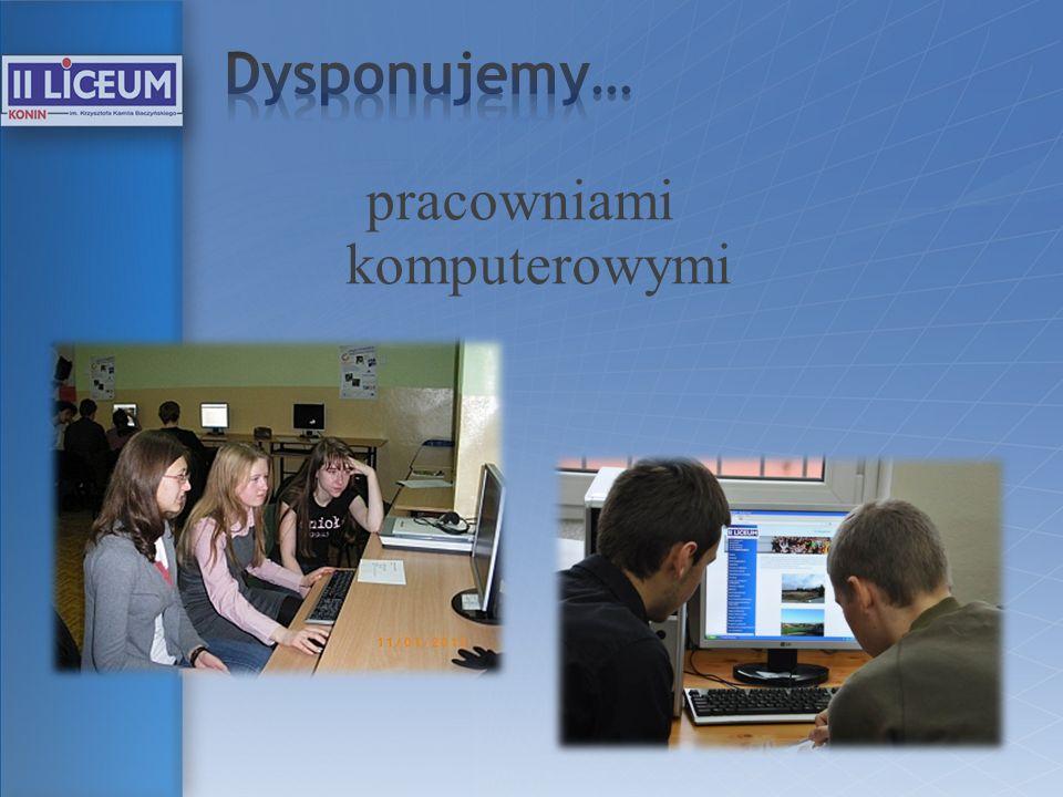 pracowniami komputerowymi
