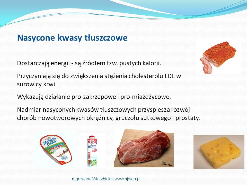 Nasycone kwasy tłuszczowe
