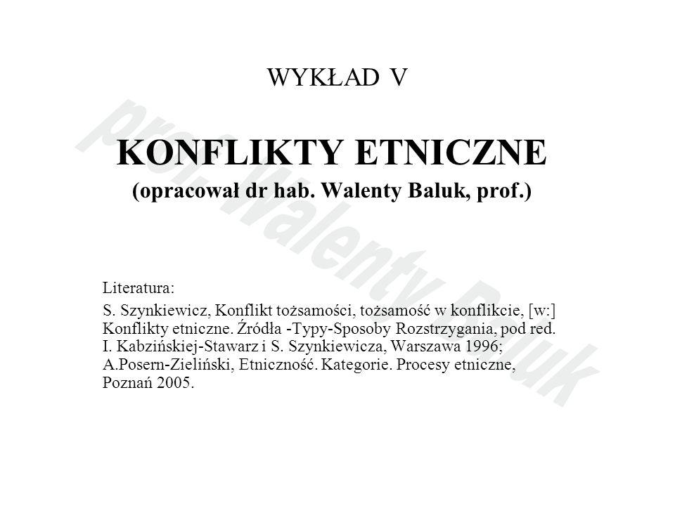 (opracował dr hab. Walenty Baluk, prof.)