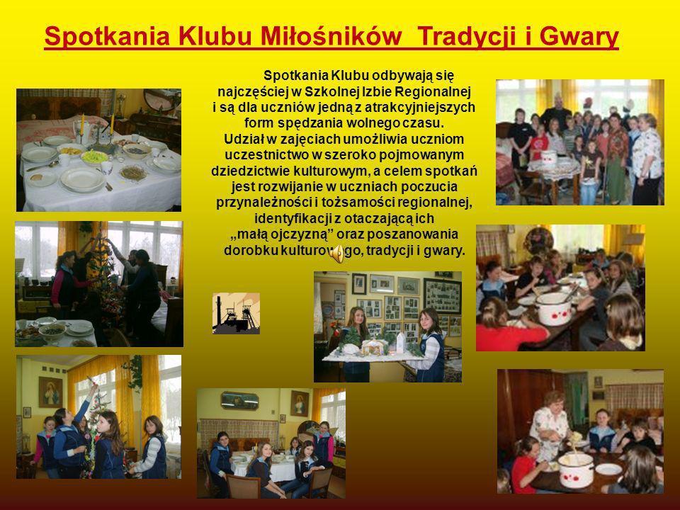 Spotkania Klubu Miłośników Tradycji i Gwary