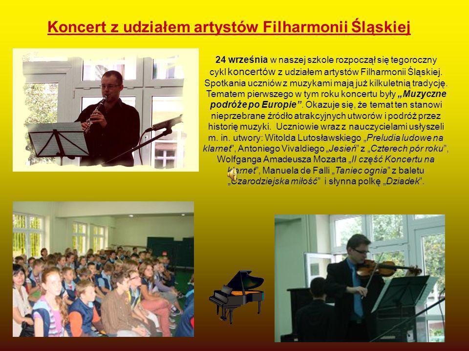 Koncert z udziałem artystów Filharmonii Śląskiej