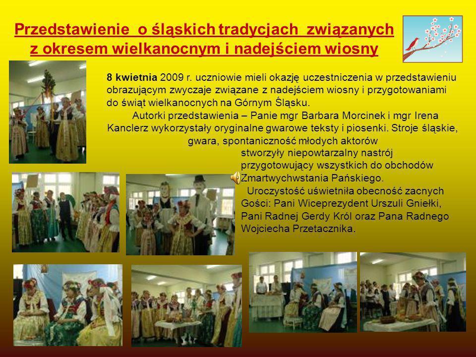 Przedstawienie o śląskich tradycjach związanych z okresem wielkanocnym i nadejściem wiosny