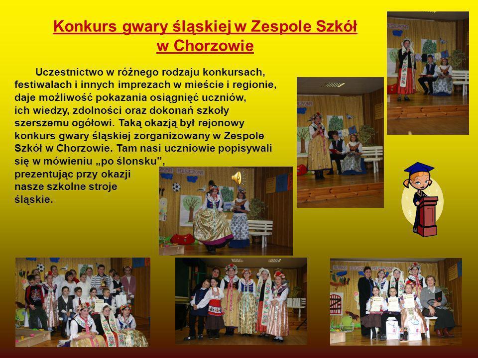 Konkurs gwary śląskiej w Zespole Szkół