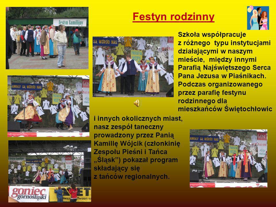 Festyn rodzinny Szkoła współpracuje