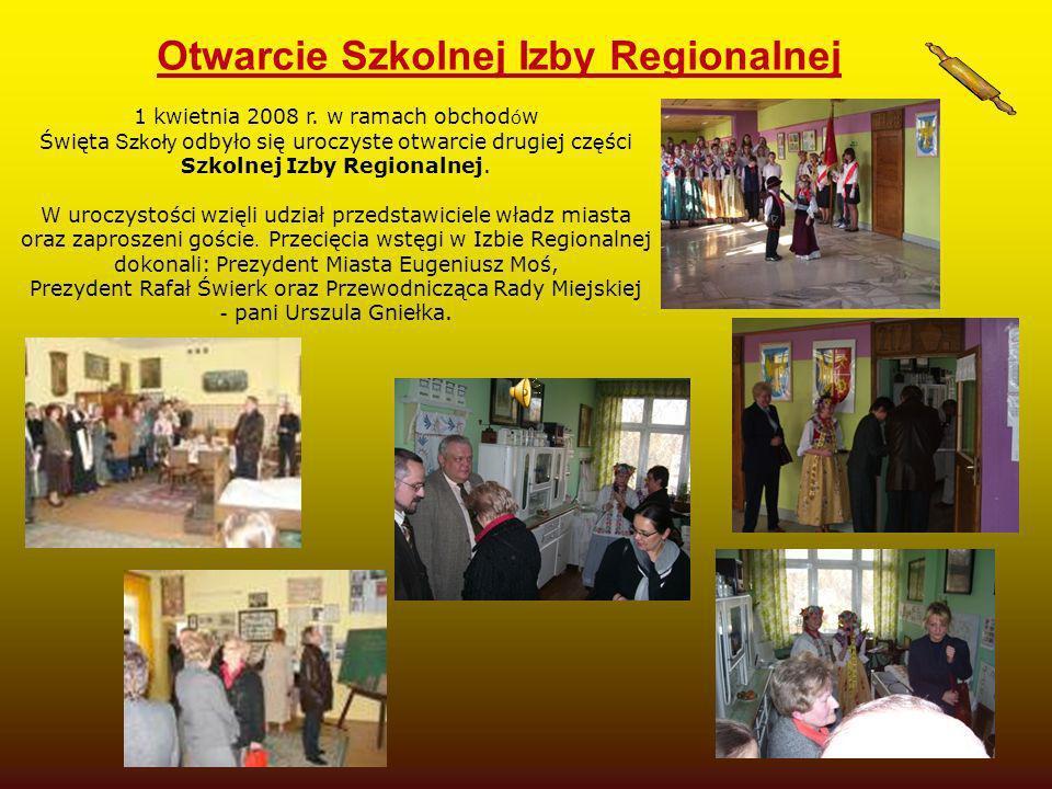 Otwarcie Szkolnej Izby Regionalnej
