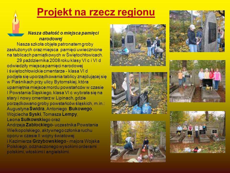 Projekt na rzecz regionu