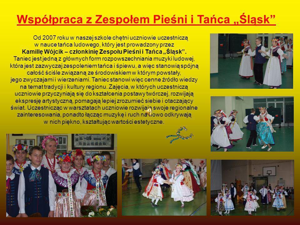 """Współpraca z Zespołem Pieśni i Tańca """"Śląsk"""