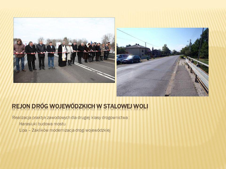 Rejon dróg wojewódzkich w Stalowej woli