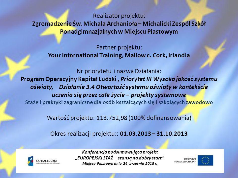 Konferencja podsumowująca projekt