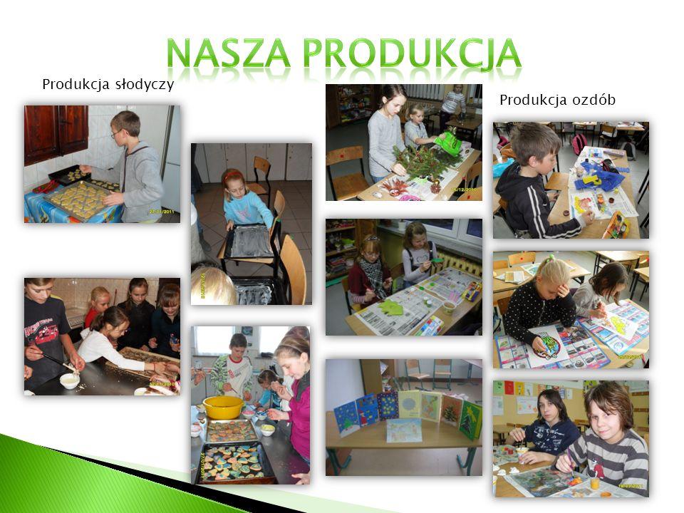 Nasza produkcja Produkcja słodyczy Produkcja ozdób
