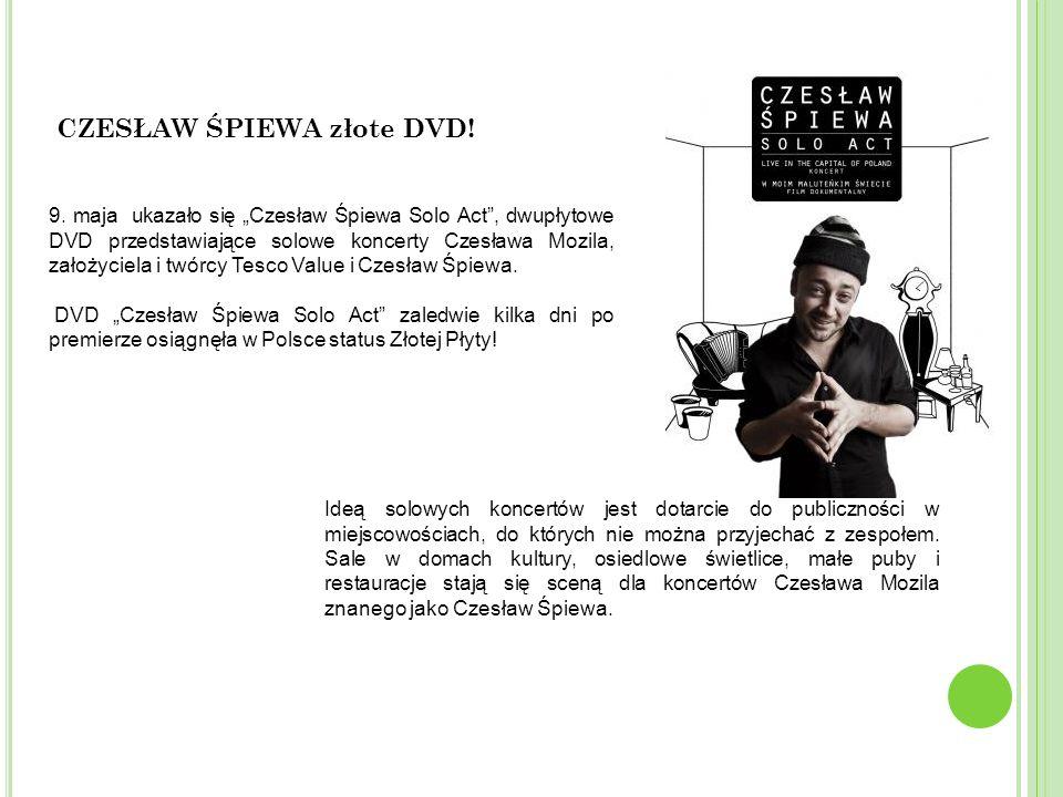 CZESŁAW ŚPIEWA złote DVD!