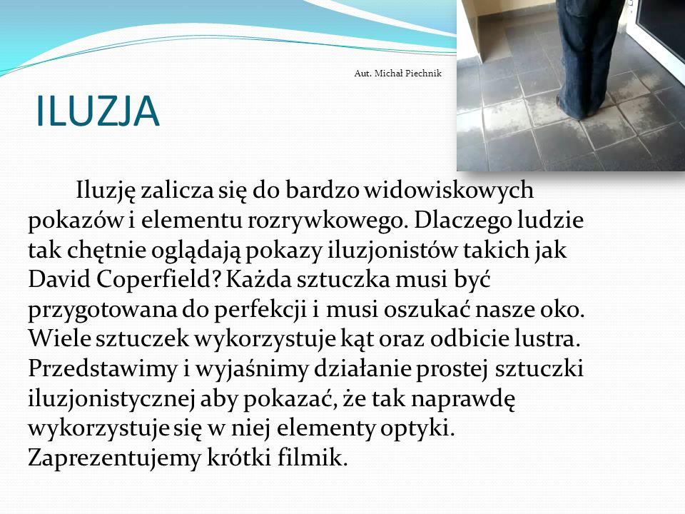 ILUZJA Aut. Michał Piechnik.