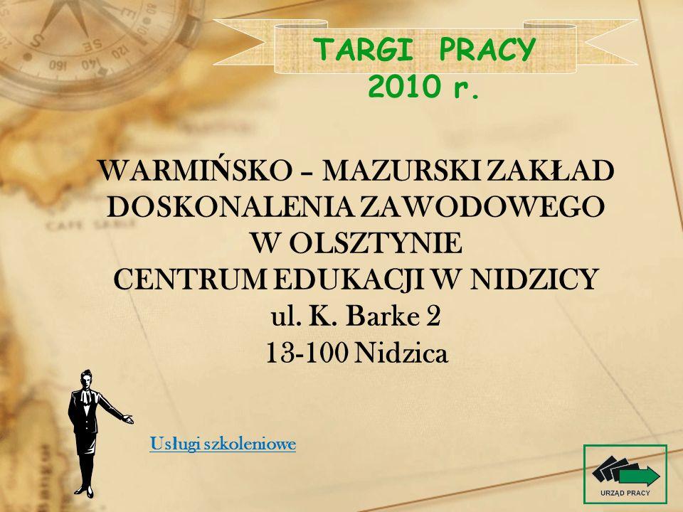 Warmińsko – Mazurski Zakład Doskonalenia Zawodowego w Olsztynie