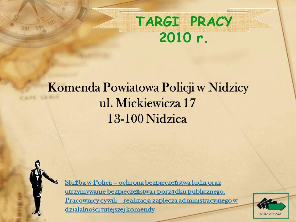 Komenda Powiatowa Policji w Nidzicy