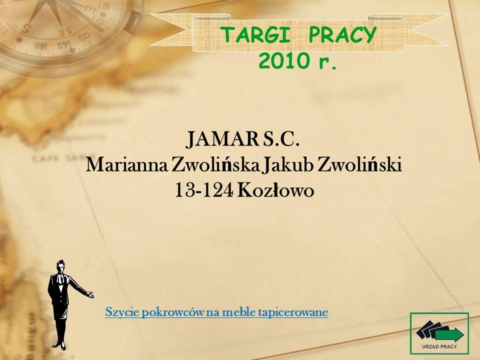 Marianna Zwolińska Jakub Zwoliński