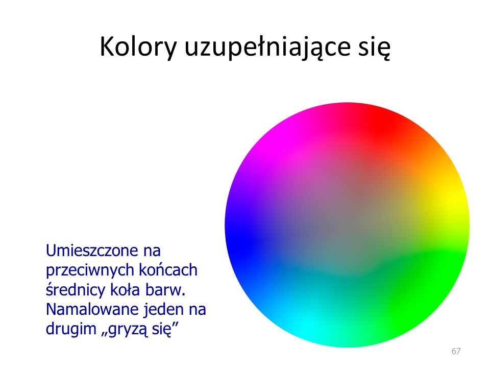 Kolory uzupełniające się