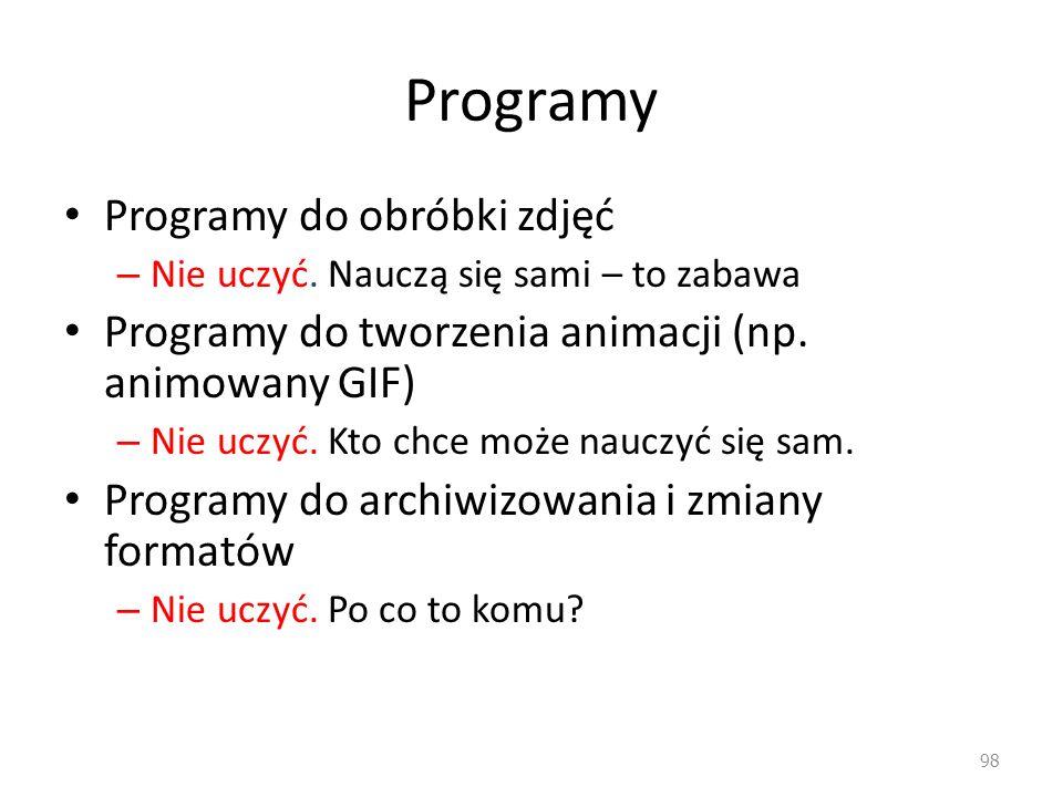 Programy Programy do obróbki zdjęć