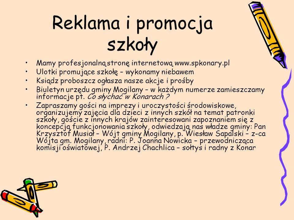 Reklama i promocja szkoły
