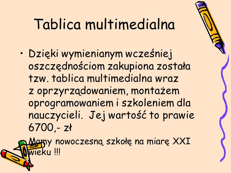 Tablica multimedialna