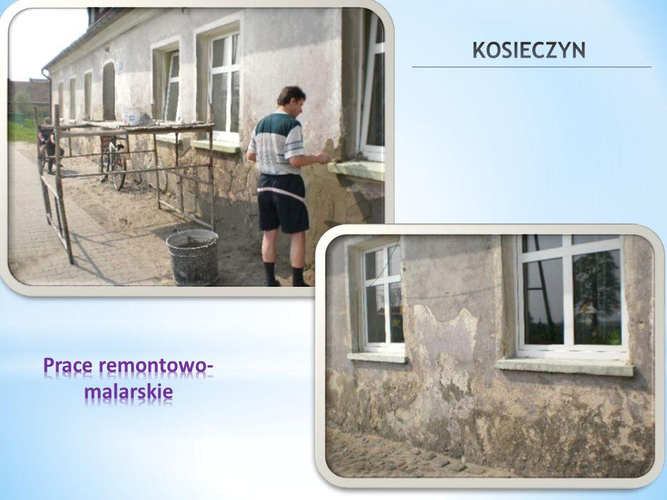 Prace remontowo-malarskie