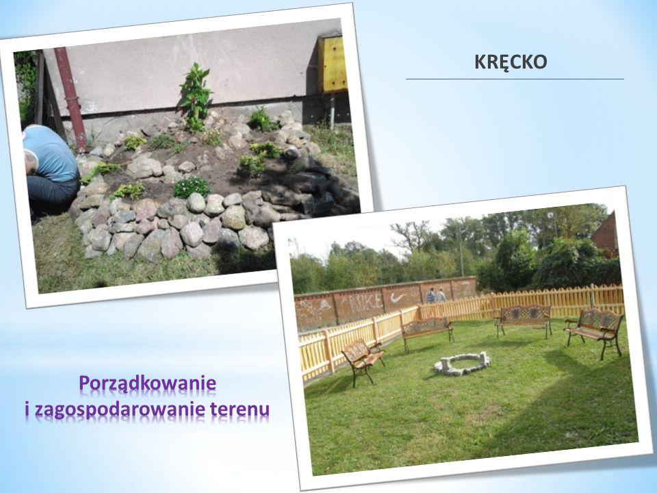 Porządkowanie i zagospodarowanie terenu