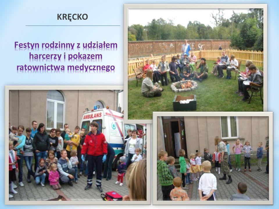 Festyn rodzinny z udziałem harcerzy i pokazem ratownictwa medycznego