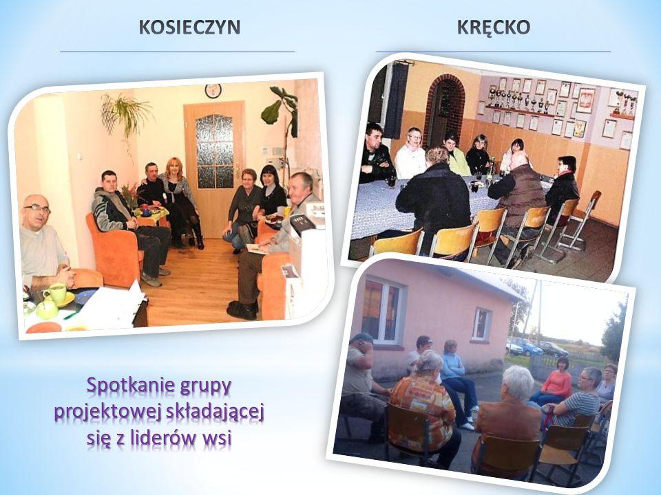 Spotkanie grupy projektowej składającej się z liderów wsi
