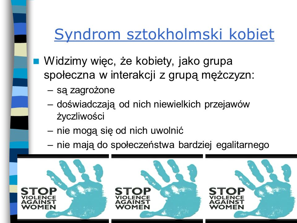 Syndrom sztokholmski kobiet