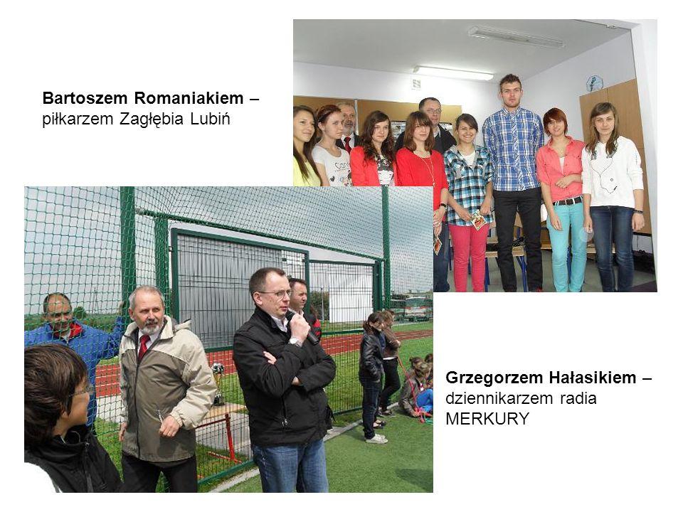 Bartoszem Romaniakiem – piłkarzem Zagłębia Lubiń