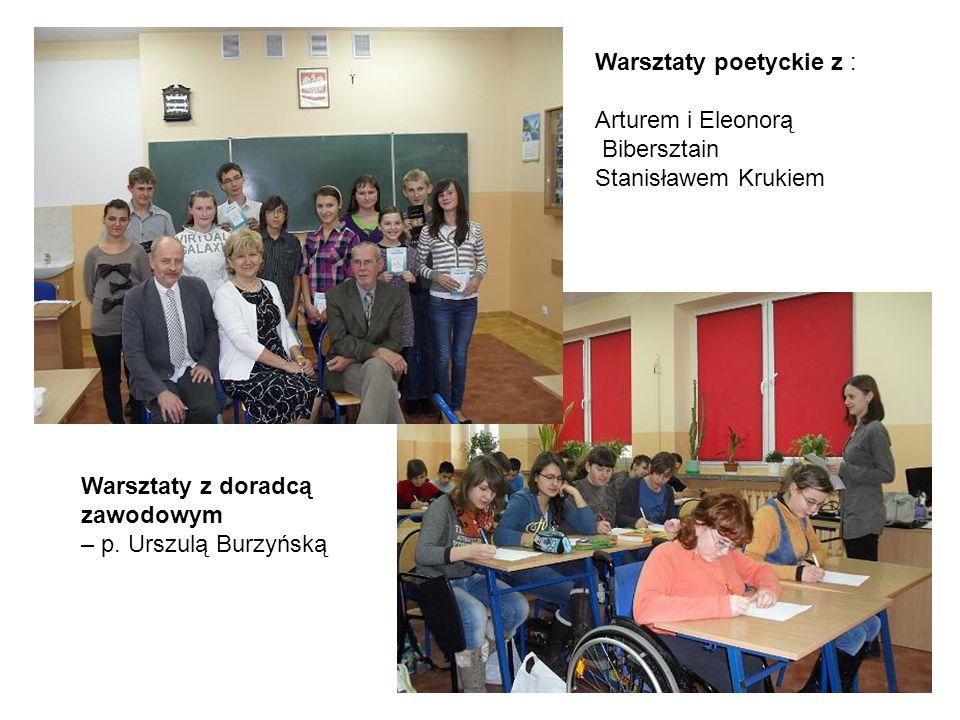 Warsztaty poetyckie z :