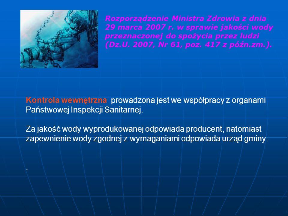 Rozporządzenie Ministra Zdrowia z dnia 29 marca 2007 r