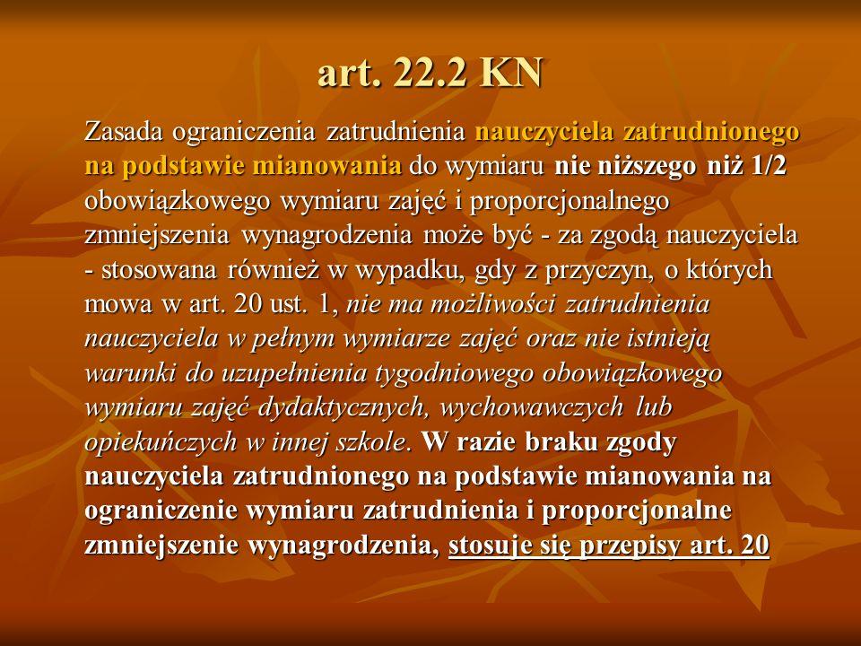 art. 22.2 KN