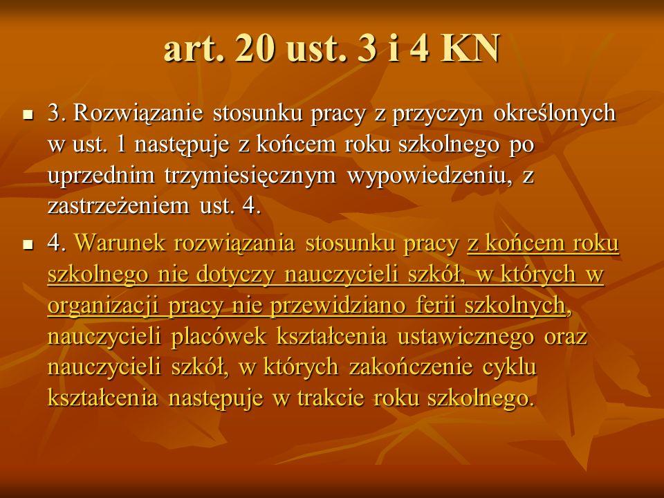 art. 20 ust. 3 i 4 KN