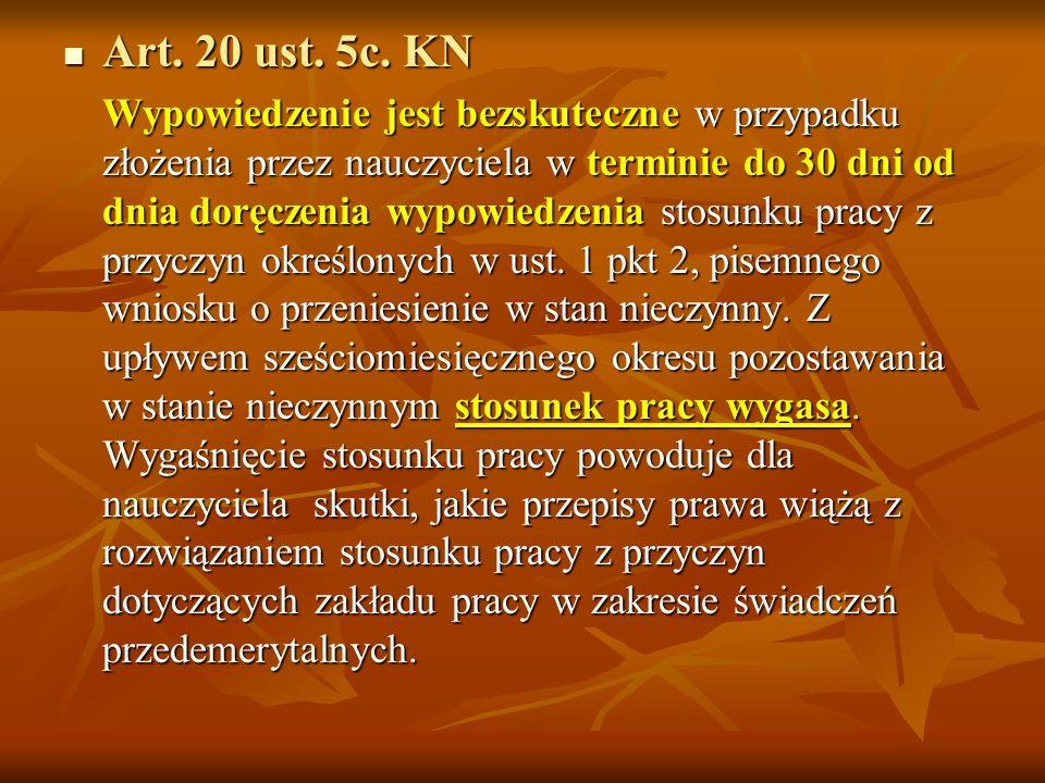 Art. 20 ust. 5c. KN