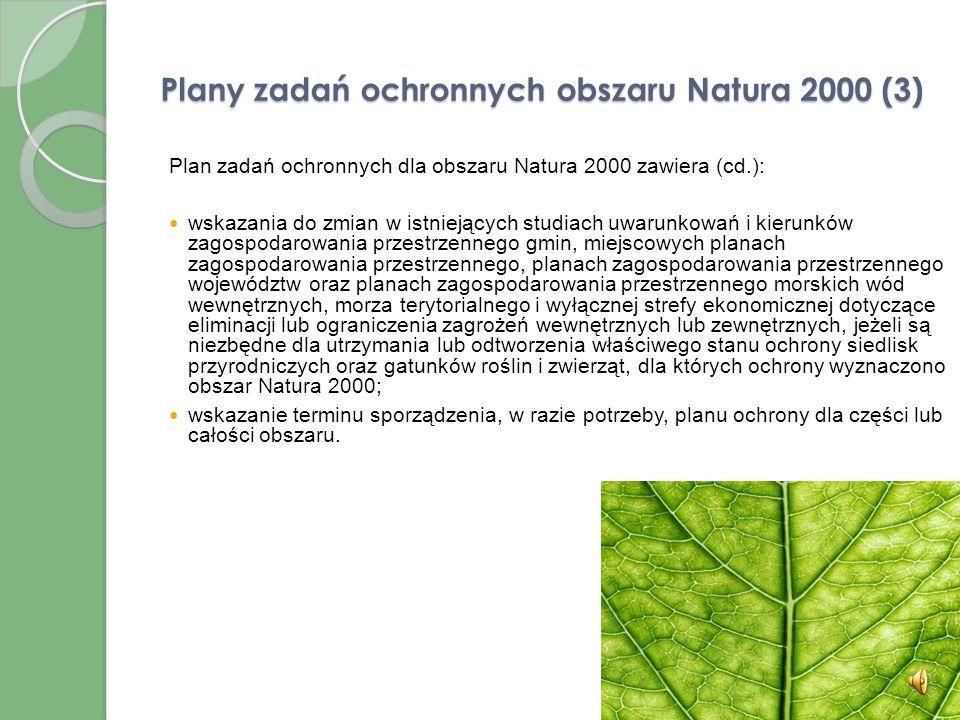 Plany zadań ochronnych obszaru Natura 2000 (3)