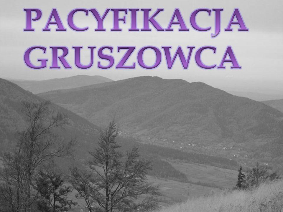 PACYFIKACJA GRUSZOWCA