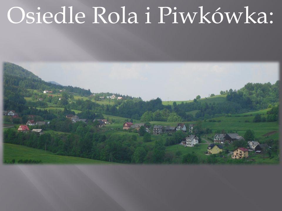 Osiedle Rola i Piwkówka: