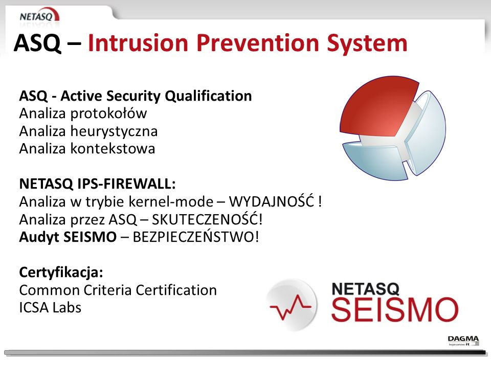 ASQ – Intrusion Prevention System