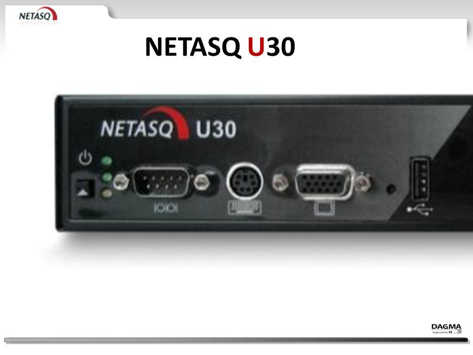 NETASQ U30 EK. Model U30 – NAJMNIEJSZY MODEL REKOMENDOWANY DO SIECI OK. 25 – 35 KOMPUTERÓW.