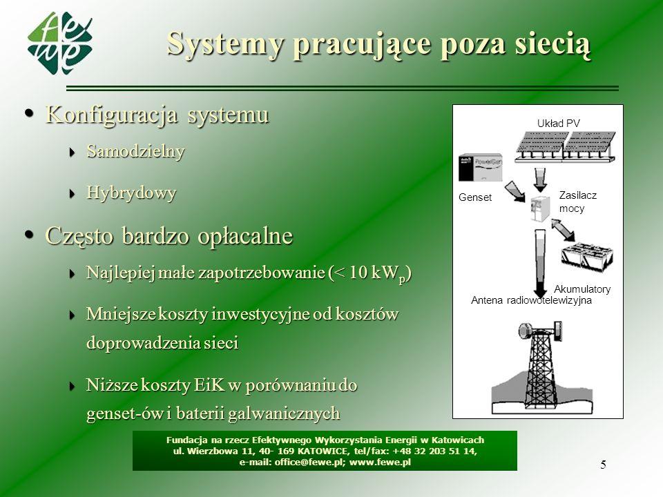 Systemy pracujące poza siecią