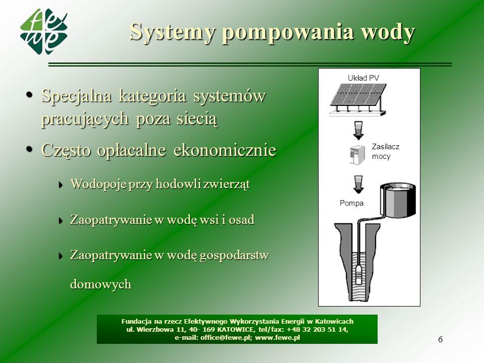 Systemy pompowania wody