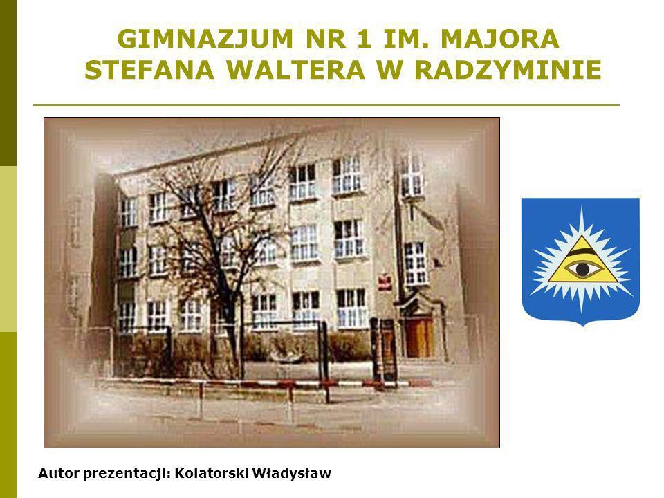 STEFANA WALTERA W RADZYMINIE