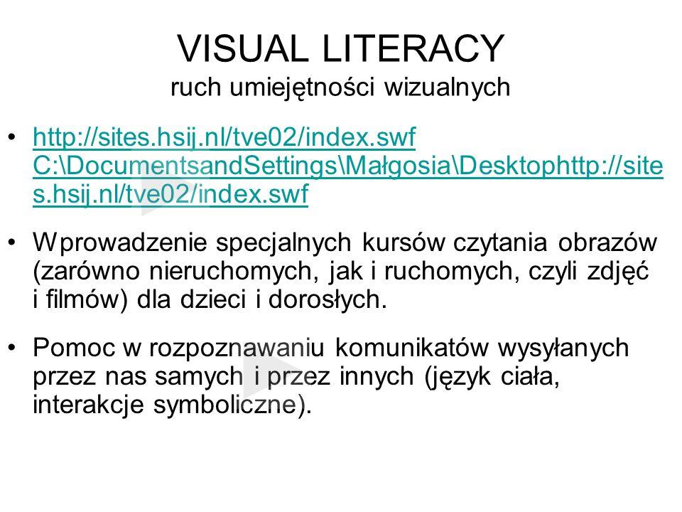 VISUAL LITERACY ruch umiejętności wizualnych