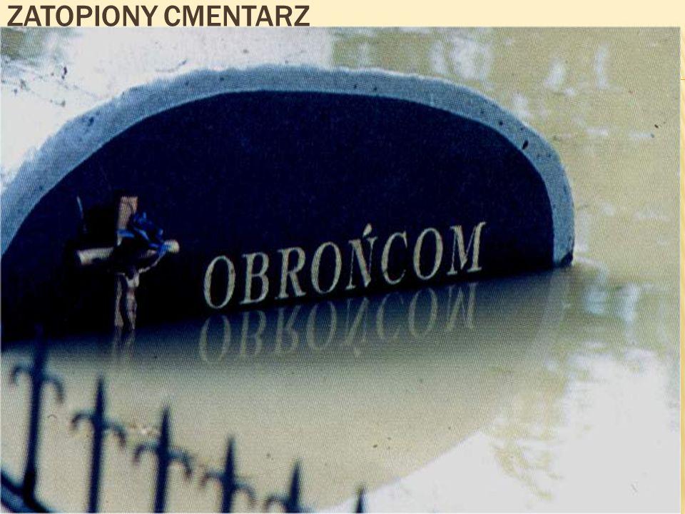 Zatopiony cmentarz