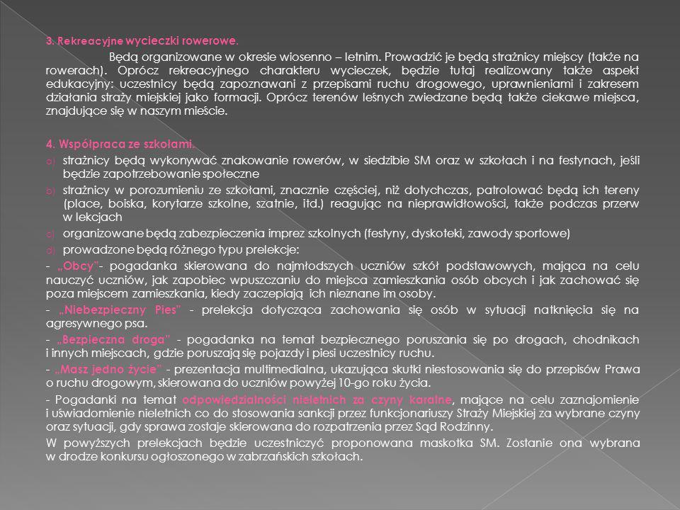 4. Współpraca ze szkołami.